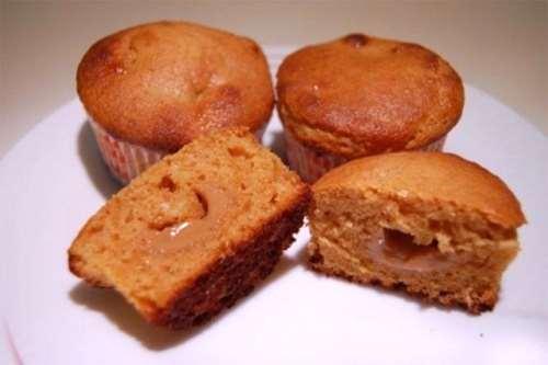 Muffin al dulce de leche