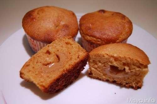 ricette Muffin al dulce de leche