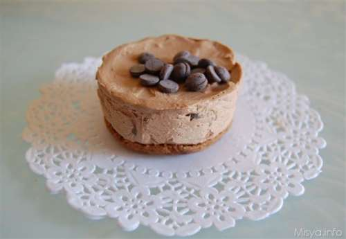 Mini cheese cake al cioccolato