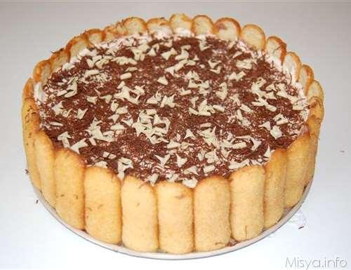 Dolci ricette Torta gelato gianduia e mandorle
