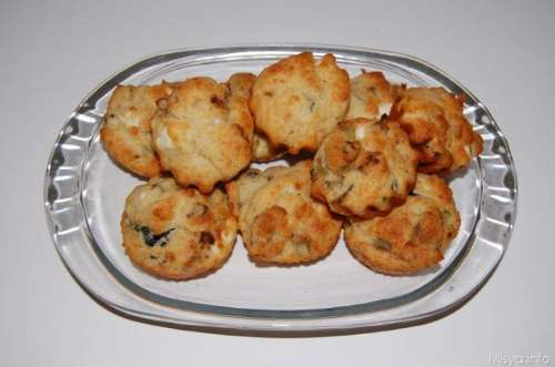 Ricette Finger food Muffin melanzane e feta