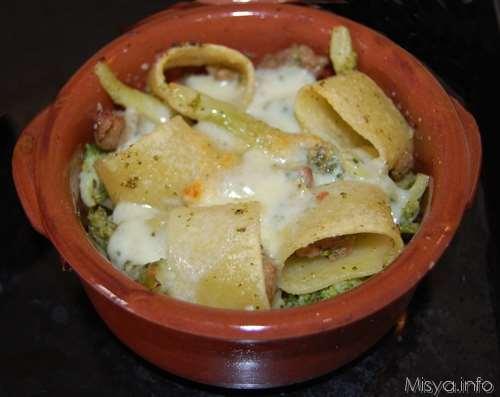 Ricette Primi piatti Calamarata broccoli e salsicce