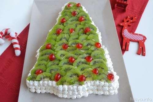 Torta A Forma Di Stella Di Natale.Torta Albero Di Natale Ricetta Torta Albero Di Natale Di Misya
