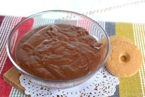 Dolci ricette Crema pasticcera al cioccolato