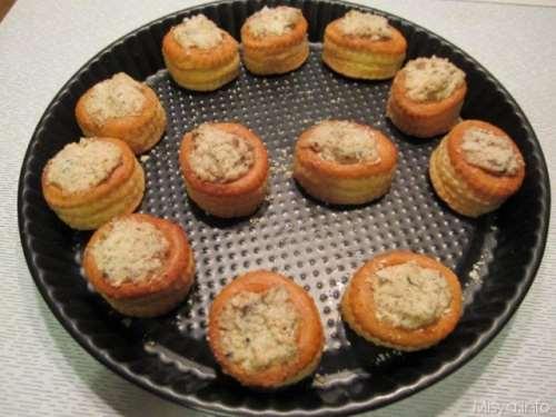 Finger food ricette Vol au vent pollo e funghi