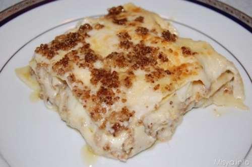 Ricette Vegetariane Lasagne alle noci