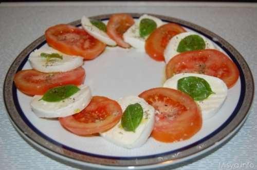 Secondi piatti napoletani ricette Insalata Caprese