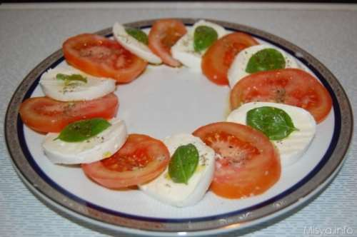 Ricette  Insalata Caprese