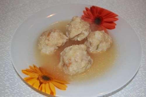 Minestre e zuppe ricette Canederli