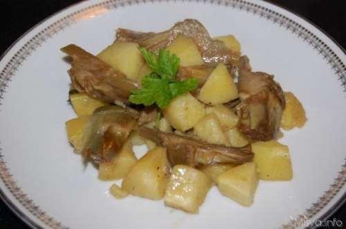 Ricette  Carciofi e patate