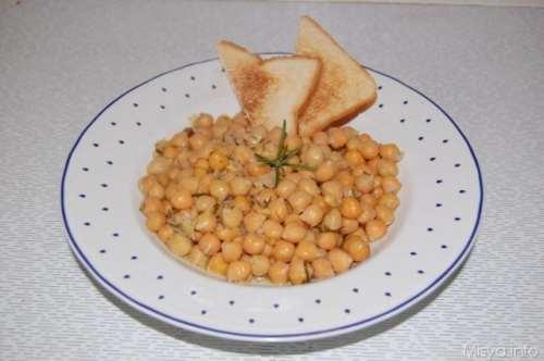 Vegetariane ricette Zuppa di ceci