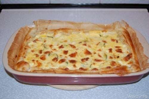 Ricette  Torta salata con le zucchine