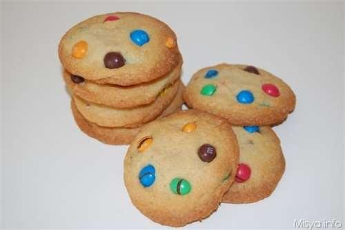 ricette M&m's cookies