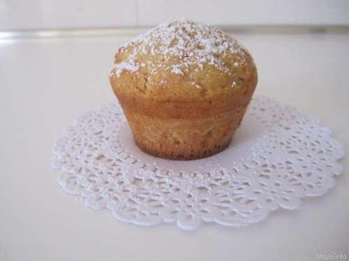 Muffin alla ricotta e caramello