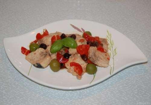 ricette Bocconcini di pesce spada alle olive