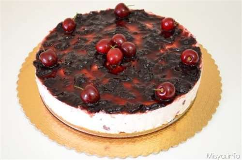 Ricette  Cheesecake alle ciliegie