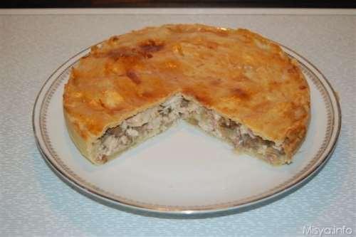 ricette Chicken pie