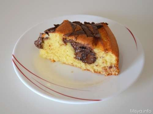 ricette Torta cocco e nutella