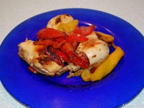 Ricette Secondi piatti Pollo ai peperoni alla romana