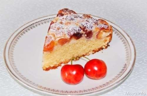 ricette Torta di ciliegie