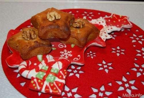 Muffin al miele e noci