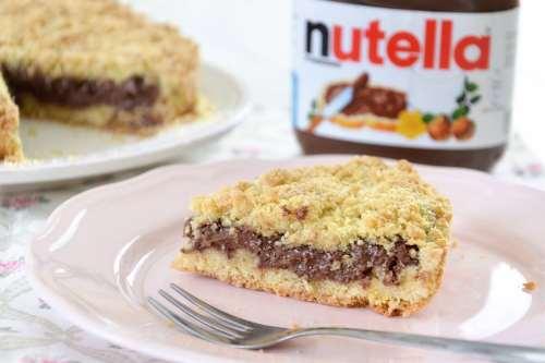 ricette Sbriciolata alla Nutella