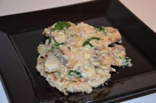 ricette Straccetti funghi e mascarpone