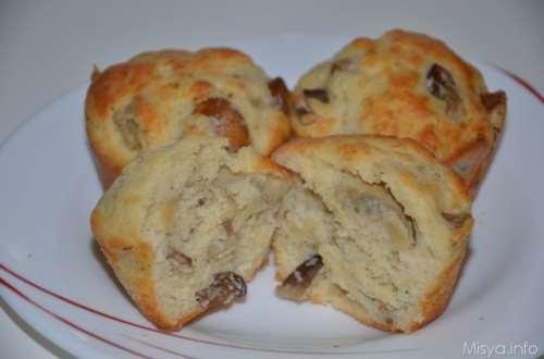 Muffin salati ai funghi