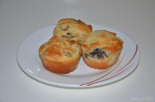 ricette Muffin salati ai funghi