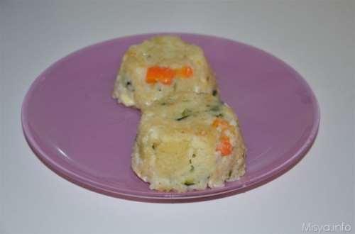 Ricette Riso Timballini di riso e verdure