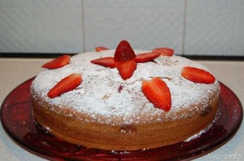 Ricette  Torta con le fragole