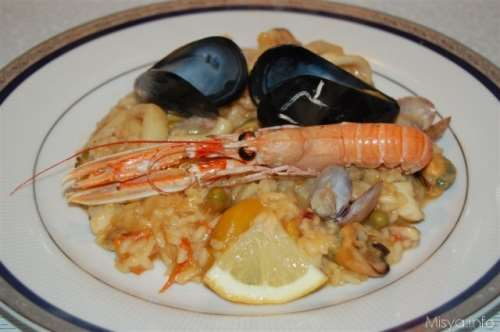 spagnole ricette Paella de marisco