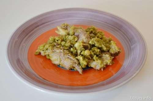 Ricette Senza glutine Agnello con i piselli