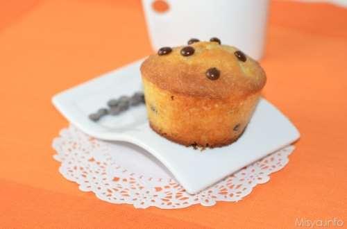 ricette Muffin con gocce di cioccolato Bimby