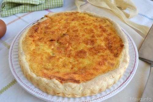 Rustici ricette Quiche Lorraine bimby