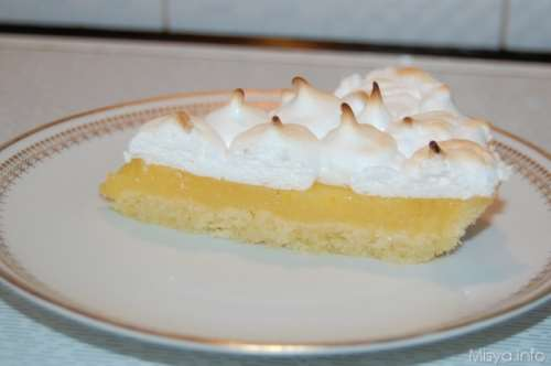 Ricette  Lemon meringue pie