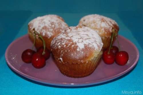 Muffin ricette Muffin alle ciliegie