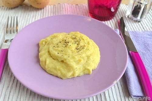Purè di patate bimby