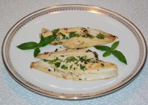ricette Filetti di platessa alle erbe e miele