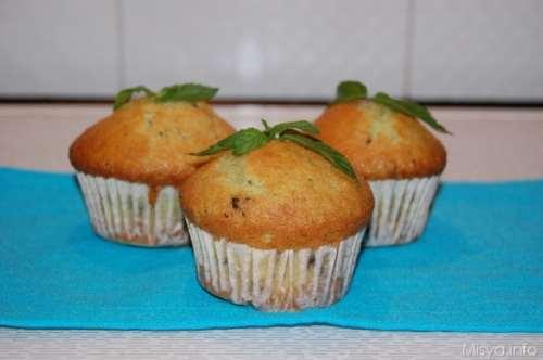 ricette Muffin menta e cioccolato