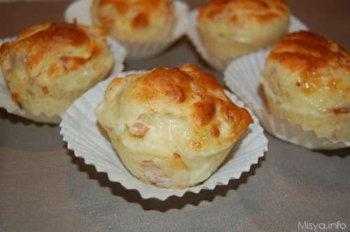 Ricette  Muffin salati bimby