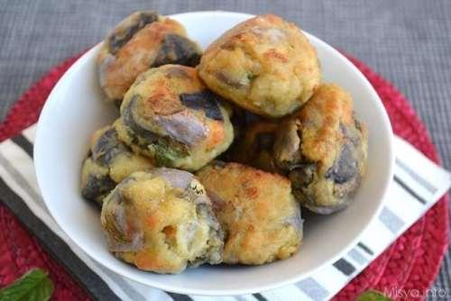 Ricette Secondi piatti Polpette di melanzane bimby