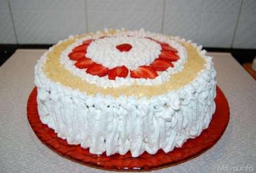 Ricette  Torta di compleanno al baileys
