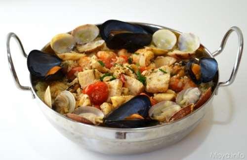ricette Cous cous di pesce