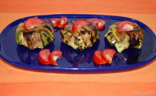 Ricette  Timballini di zucchine al salmone