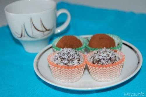 Simil tartufi al cioccolato