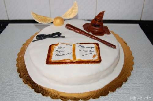 Ricette  Torta Harry Potter