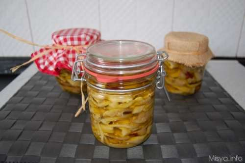 Conserve ricette Melanzane sott'olio