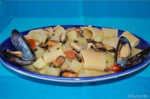 Ricette Pasta Pasta patate e cozze