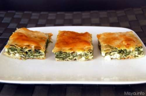 Torte salate ricette Spanakopita